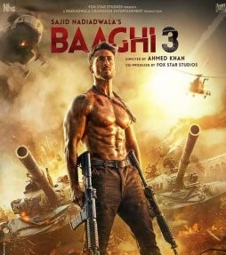 Baaghi 3 full Hd movie download (2020) 720p