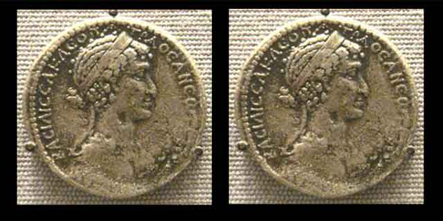 Cleopatra coins