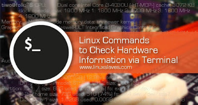 Commands to check hardware information