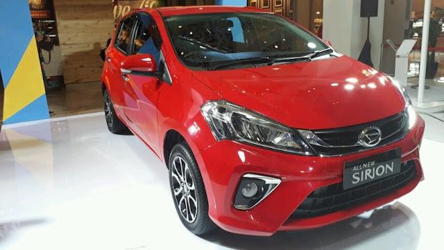 Penjualan Daihatsu Sirion Kalah dari Datsun Cross