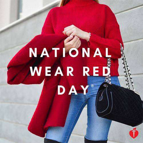 National Wear Red Day Wishes Unique Image