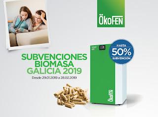 Subvenciones Biomasa Galicia 2019