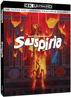 Synapse Films' SUSPIRIA 4K Ultra HD Disc is Vault Master's Pick of the Week for 11/19/2019!