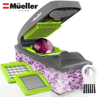 Mueller Onion Chopper Pro Vegetable Chopper .