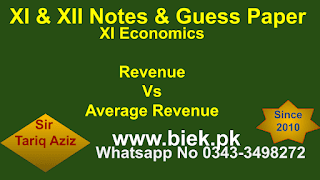 Revenue Vs Average Revenue