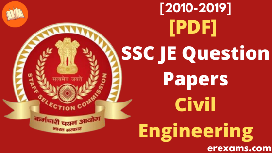 SSC JE Civil Previous Year Question Papers PDF - ErExams - Engineering Exams Guidance RSS Feed  IMAGES, GIF, ANIMATED GIF, WALLPAPER, STICKER FOR WHATSAPP & FACEBOOK