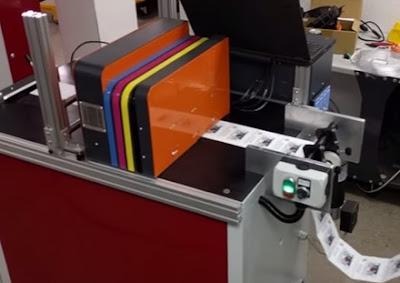 Thick Label Printer