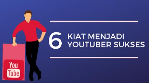 Kiat Cara Menjadi Youtuber yang Sukses