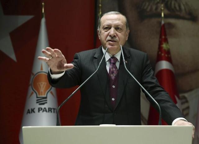 Ερντογάν: Γεωτρήσεις σε Μεσόγειο, Μαύρη Θάλασσα και Διεθνή Ύδατα