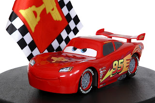 cars flag finish lightning mcqueen