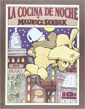 cuentos infantiles sin moralejas ni fines educativos, disfrutar leyendo libro cocina de noche sendak
