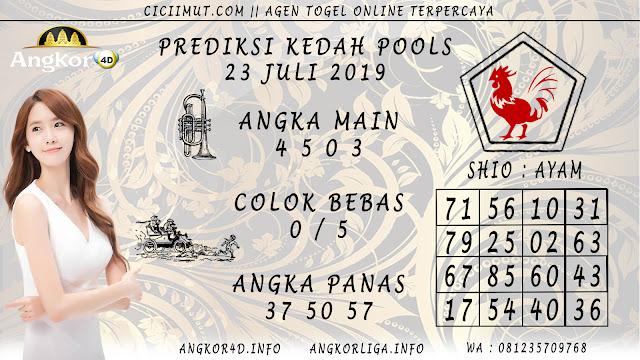 PREDIKSI KEDAH POOLS 23 JULI 2019