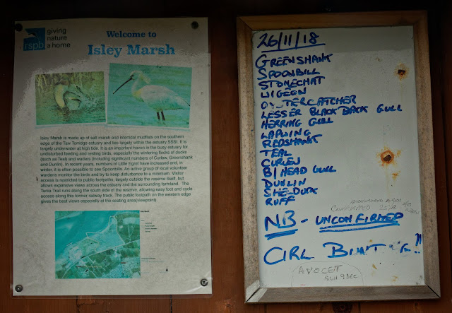 Isley Marsh Notice Board. Photo credit Pat Adams