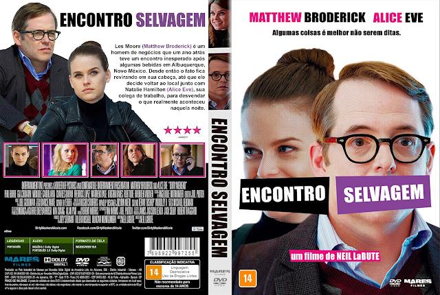 Capa DVD Encontro Selvagem [Custom]