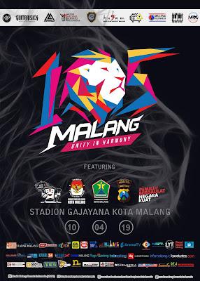 105 Malang Unity In Harmony, Segera Hadir di Bulan April 2019!