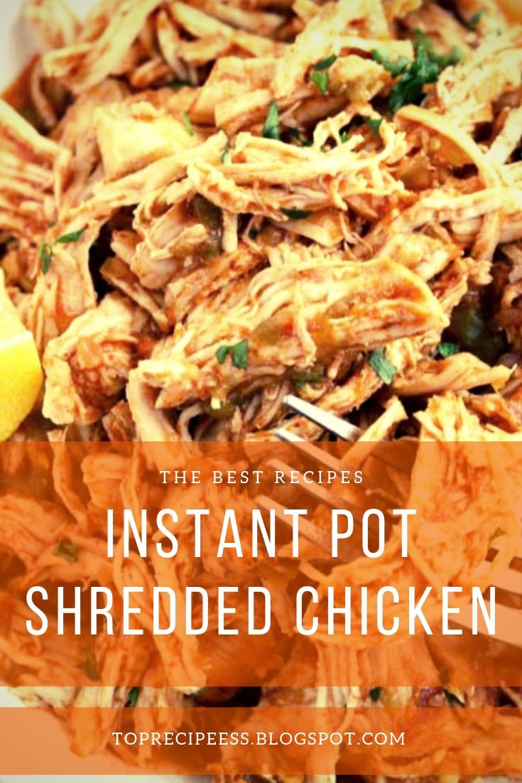 Instant Pot: Shredded Chicken | chicken marinade, chicken spaghetti, lemon chicken, teriyaki chicken, chicken potpie, chicken fajitas, ranch chicken, chicken alfredo, fried chicken, chicken tenders, chicken salad, chicken tacos, shredded chicken, slow cooker chicken, bbq chicken, grilled chicken, chicken wings, chicken soup, stuffed chicken, chicken chili, whole chicken, buffalo chicken, chicken coop #chicken alaking #chicken acomfort foods #chickenarice #chickenameals #chickenalowcarb #chickenaglutenfree #chickenarecipe #chickenadishes #chickenahealthy #chickenaeasydinners #chickenaovens #chickenacooking #chickenafamilies #chickenasoysauce #chickenbcrockpot #chickenbeasyrecipes #chickenbdinners #chickenbbbqsauces #chickenblowcarb #chickenbfamilies #chickenccrockpot #chickencoliveoils #chickenclowcarb #chickencglutenfree #chickencdinners #chickencfamilies