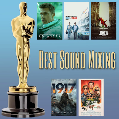 Best Sound Mixing Academy Awards nominees Oscars 2020
