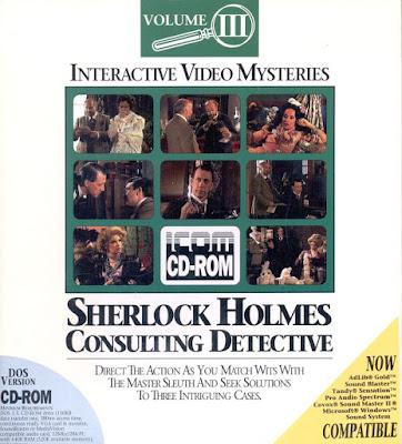 Portada videojuego Sherlock Holmes Consulting Detective Vol. III