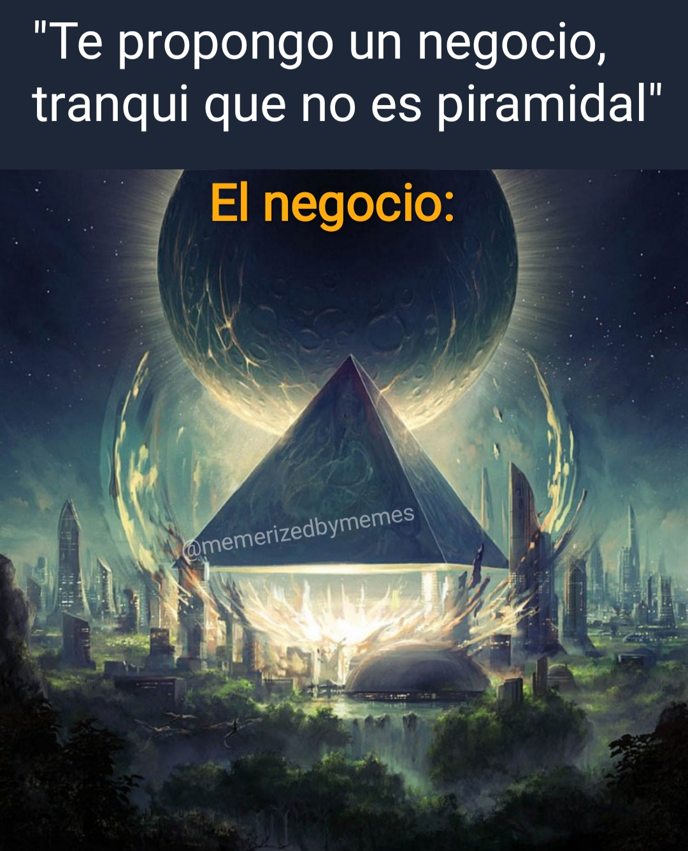 negocio piramidal
