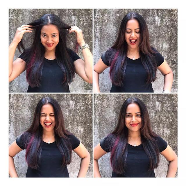 Sameera Reddy Long Layered Hairstyle