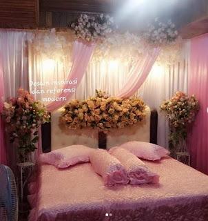 Warna Cat Kamar Tidur Romantis Minimalis untuk Pasangan Baru