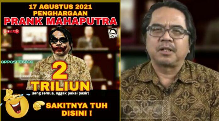 Beredar Foto Ade Armando Dipermak bak Joker, Netizen: Gak Perlu Dihina Juga Udah Menghinakan Diri Sendiri!