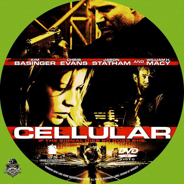 Cellular DVD Label