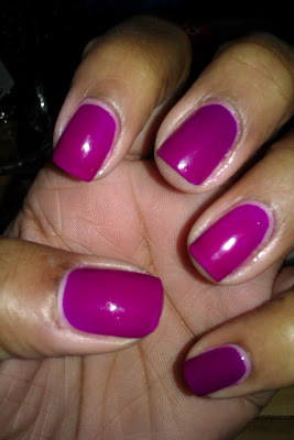 Neon, purple, Dream On, Wild Thing, swatch, nail art, mani
