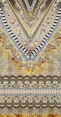 Animal skin Leopard caftan Textile Print 5055