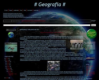 Projeto de GEOGRAFIA e MEIO AMBIENTE