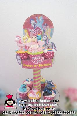 Cupcake Tier My Little Pony Lucu dan Cantik