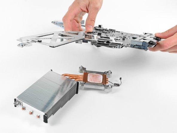 "iMac Intel 21.5"" EMC 2389 CPU Heat Sink Replacement."