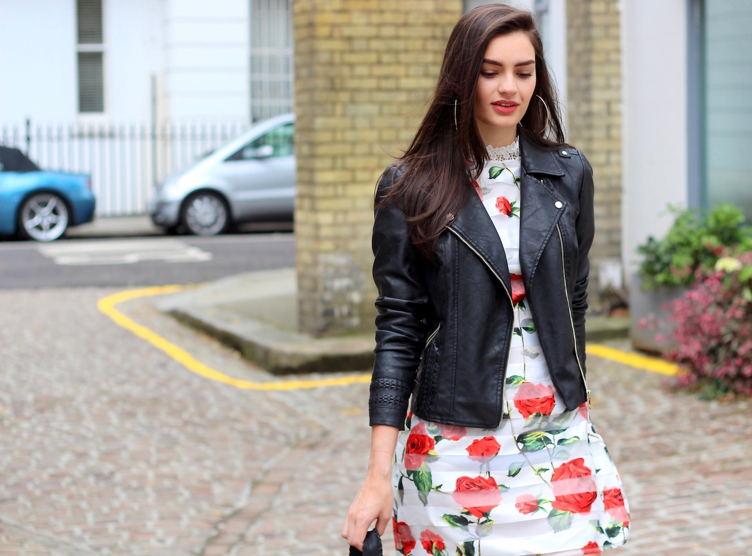 summer style peexo blogger ax paris leather jacket