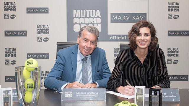Mary Kay volverá a maquillar al tenis mundial