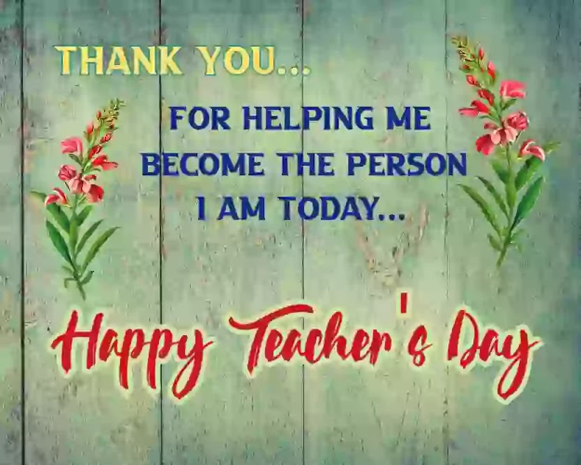 Teacher's day thoughts 2020 images status