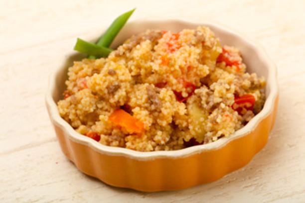 Cuscus con carne y verduras