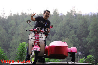 Vespa in Love Dago Dreampark