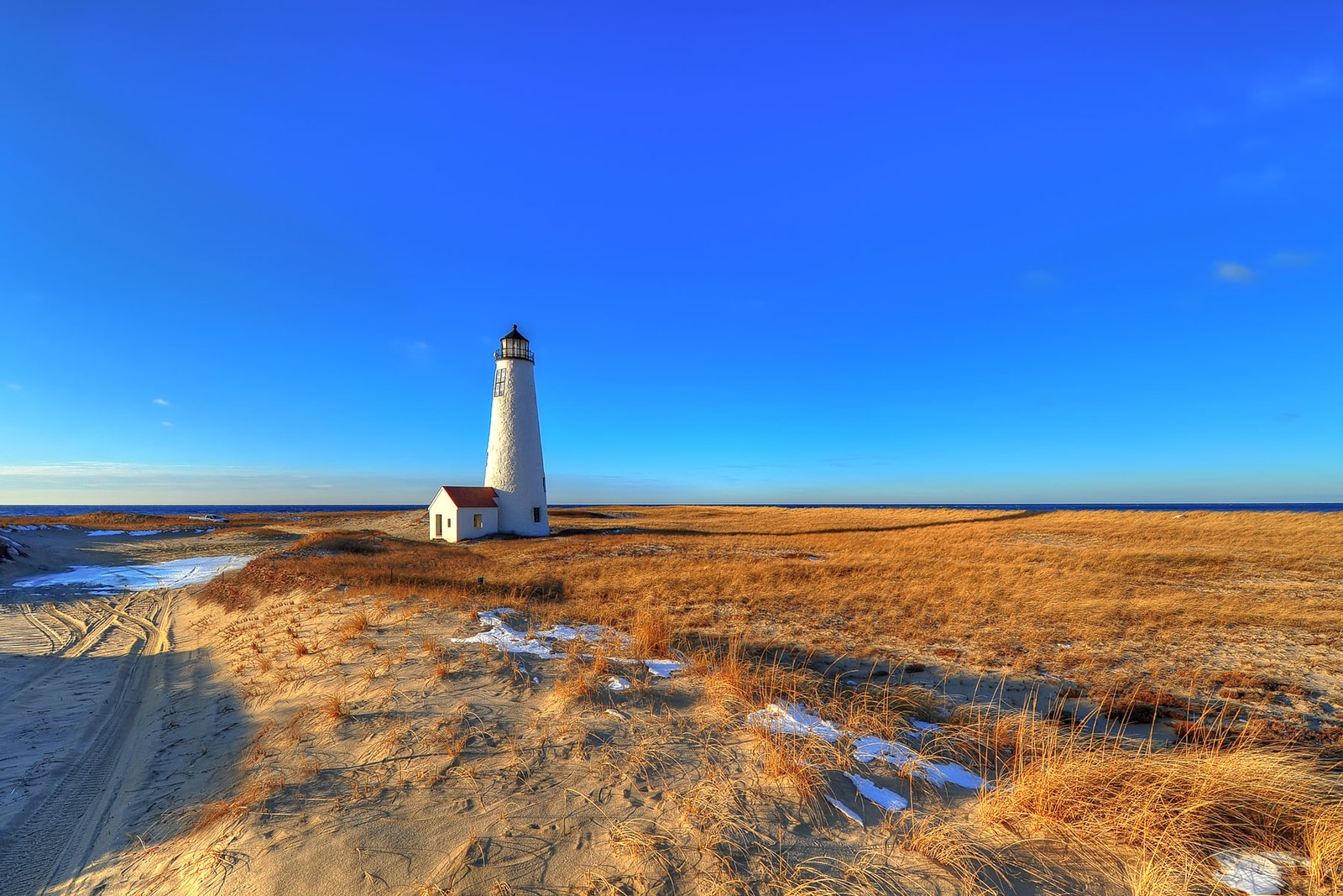 Great Point Light on Nantucket Island