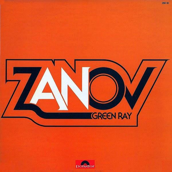 Green Ray (Polydor, 1977), el álbum de debut del músico francés Zanov