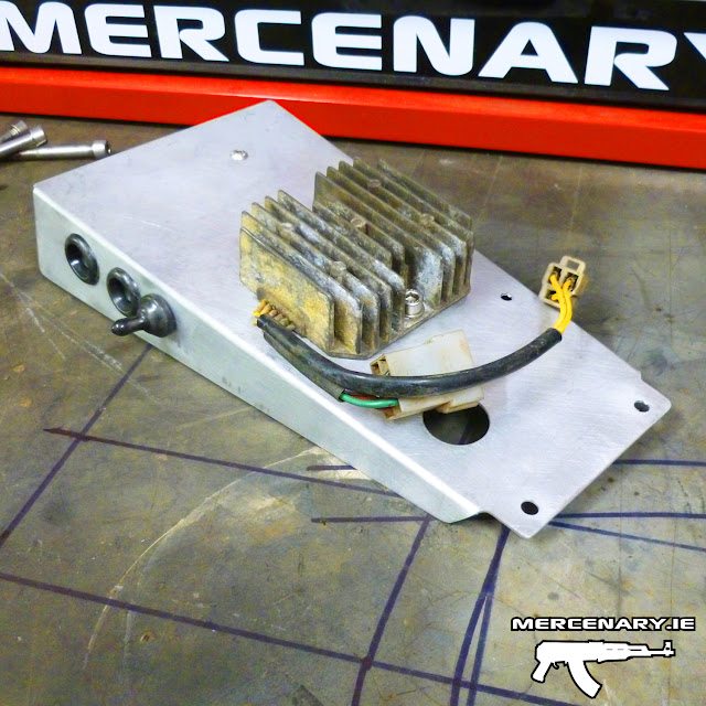 Project XS 850 Sidecar Brat - Electrics Tray
