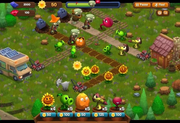 Plants Vs Zombies Facebook