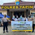 HIPMI Tapin Bantu Korban Banjir di Astambul Banjar Kalsel