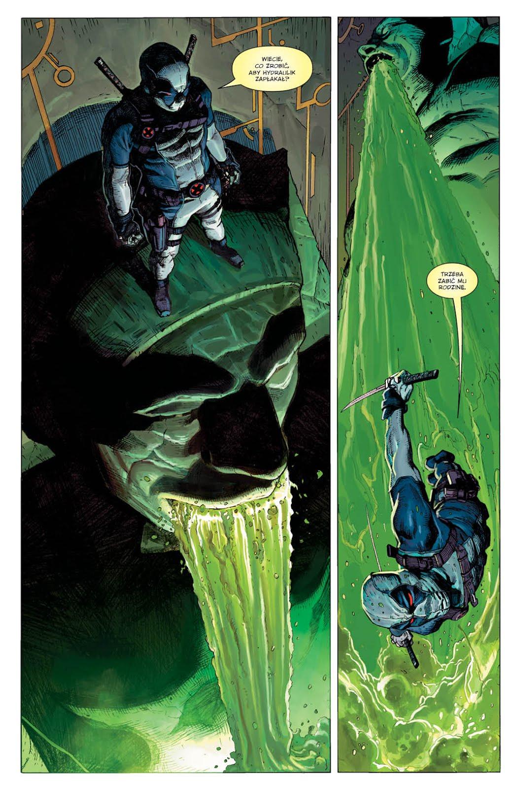 Uncanny X-Force tom 1: Sposób na Apocalypse'a przykładowa strona
