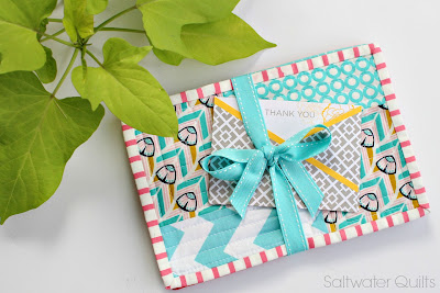 Quilted Mug Rugs | © Saltwater Quilts 2013