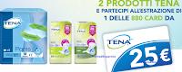 Logo Con il concorso ''Fai la spesa con Tena'' vinci 880 buoni spesa da 25€