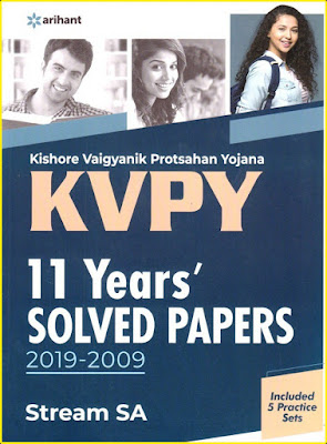 Download Arihant KVPY Previous Years Solved Papers Book Pdf