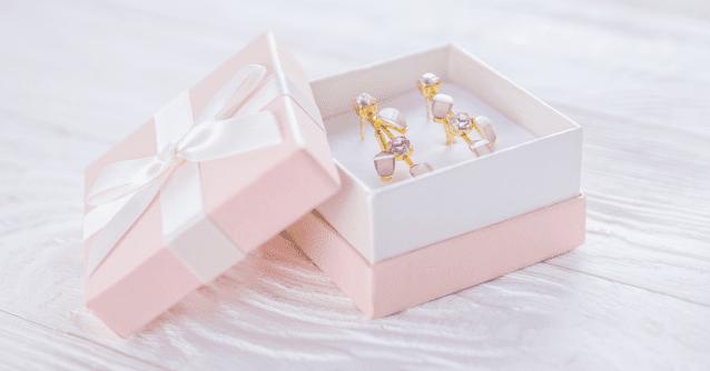 Подарочная коробочка для сережек