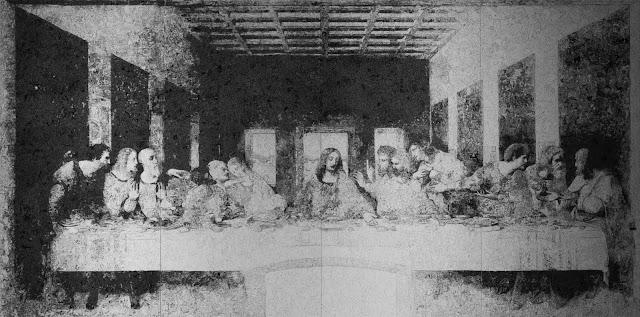 doodle illustrated Last Supper by Saga Kikeita