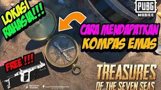 Cara Mendapatkan Kompas Emas PUBG