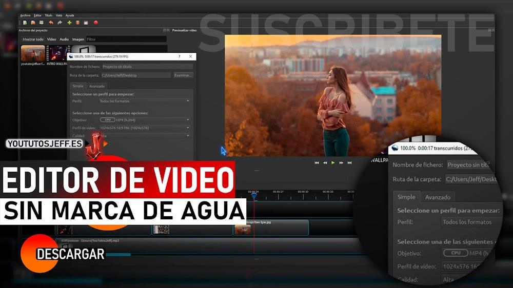 Editor de Video Sin MARCA DE AGUA para PC   32 Y 64 BITS   Descargar OpenShot Ultima Version 2021